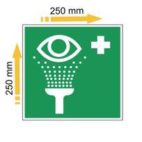 Générique - Adhésif polymère plastifié U.V équipement de rinçage des yeux