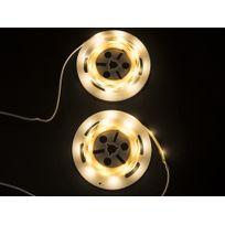Beliani - Éclairage Led blanc - Détecteur de mouvement - 2x120 cm - Led