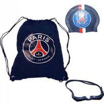Licence Psg - Set sac de piscine Paris Saint Germain Psg + bonnet de bain + lunettes de plongée