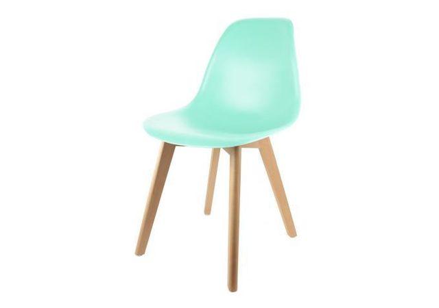 declikdeco chaise enfant scandinave verte baby norway beige vert pas cher achat vente. Black Bedroom Furniture Sets. Home Design Ideas