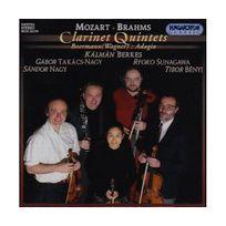 Hungaroton Classics - Wolfgang amadeus mozart - johannes brahms - karl baermann quintettes pour clarin