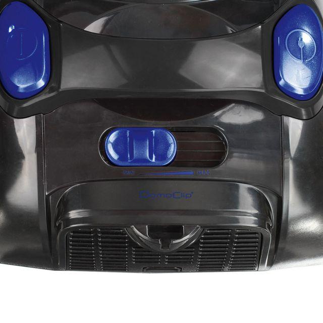 DOMOCLIP Aspirateur multi-cyclonique sans sac DOH110B Capacité du bac à poussière 2 L - Variateur de puissance - Rayon d'action de 6 mètres - Position parking verticale et horizontale intégrée - Embout 2 en