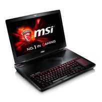 Msi - Pc Portable Gamer - Gt80S 6QD Titan Sli273FR - 18.4'' Fhd - 32Go Ram - Windows 10 - Core i7 - Gtx970M Sli - 1To + 256Go Ssd