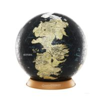 4D Cityscape - Game of Thrones - Puzzle 3D Globe Unknown World 60 pièces