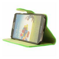 Mocca - étui folio vernis vert fluo Samsung Galaxy S4 I9500