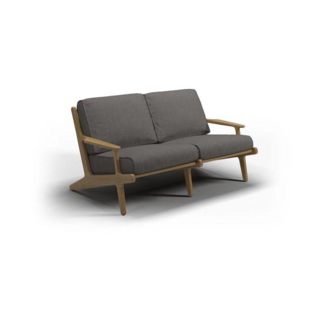 Gloster Sofa Bay 2 Seater - granite