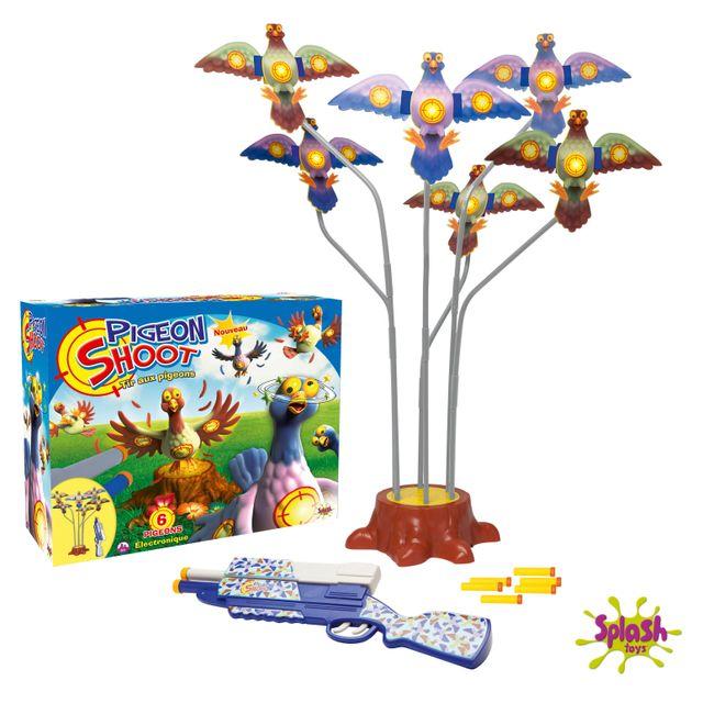 splash toys tir aux pigeons 6 cibles 56101 pas cher achat vente jeux d 39 adresse. Black Bedroom Furniture Sets. Home Design Ideas
