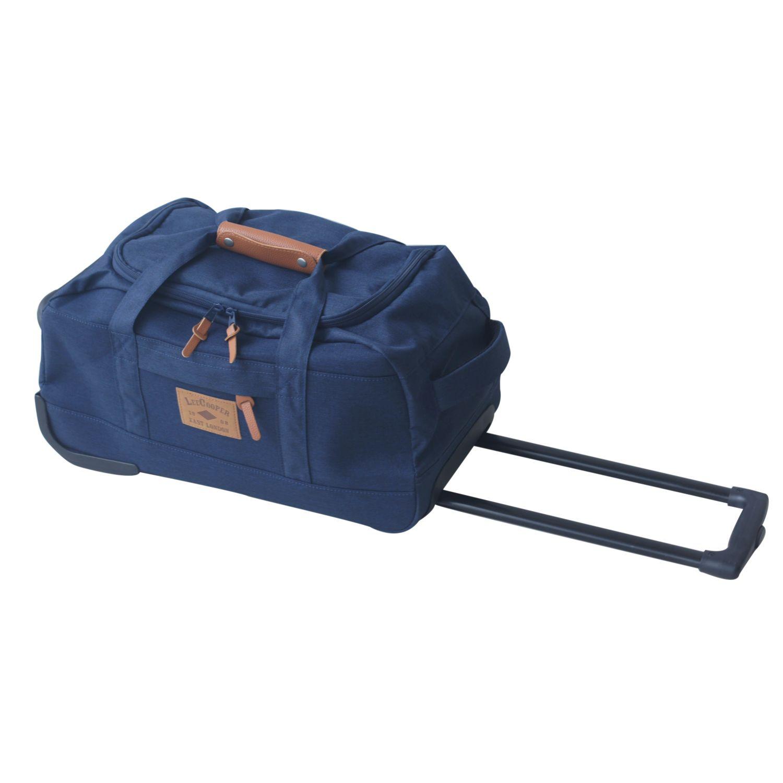 88311150ab LEE COOPER- Sac de voyage à roulettes - 50cm - Bleu