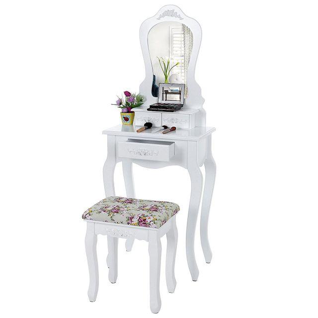 coiffeuse d angle blanc finest autre coiffeuse avec. Black Bedroom Furniture Sets. Home Design Ideas