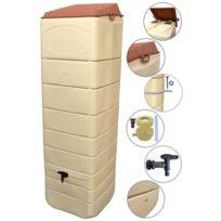 - Récupérateur à eau mural 650 L