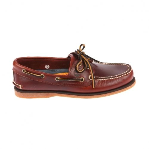 Chaussure de ville TIMBERLAND Classic Boat 2 Eye Marron Clair 7w6UAy