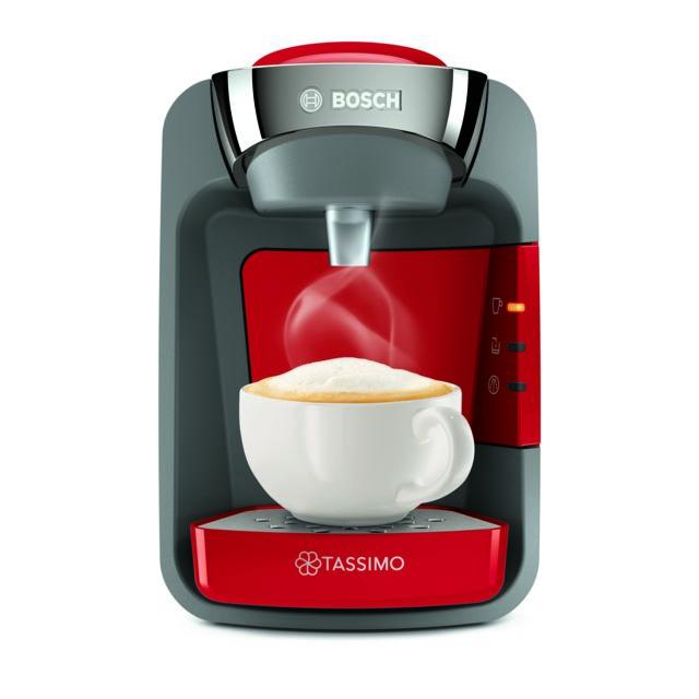 Bosch Machine multi-boissons Suny - TAS3208 - Rouge coquelicot