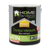 Home Tendance - Peinture monocouche murale 2,5L graine de sésame satin - lessivable - by Renaulac
