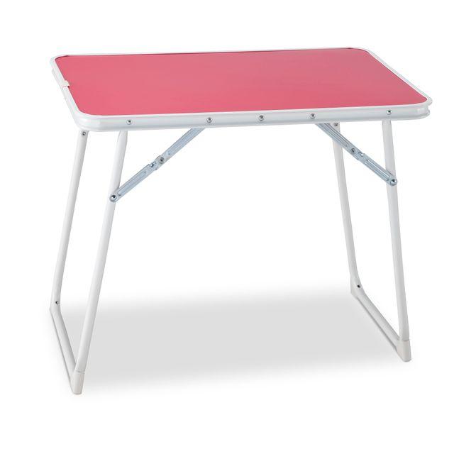 Carrefour Table Pliante Pour Enfant Rose 814 D Pas Cher