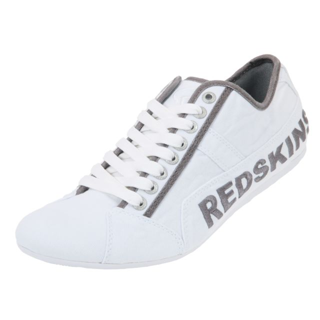 Redskins Tempo Blanc - Chaussures Baskets basses Homme