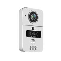 Konx - Portier audio et vidéo 720p Wi-Fi, détecteur de mouvement, lecteur Rfid
