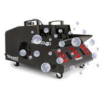 BEAMZ - SB2000LED machine à fumée & bulles savon 2000W réservoir 1,35L LED RVB DMX
