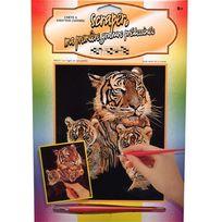Oasis - Scraper argent tigre et petit