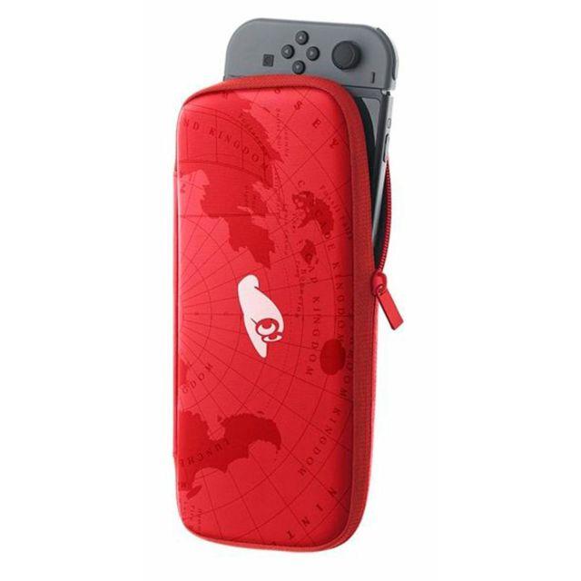 NINTENDO Pochette de transport et protection d'écran SwitchTM Edition Super Mario OdysseyTM