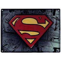 Superman - Dc Comics Plaque métal