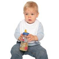 Babybugz - Bavoir bébé - coton - Bz12 - blanc
