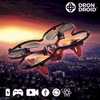 Totalcadeau - Drone caméra télécommandé avec 4 hélices de rechange, photo video