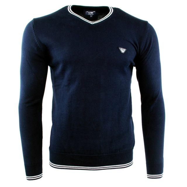 e579ba5de74 Armani Ea7 - Pull Armani Jeans Homme - pas cher Achat   Vente Pull ...