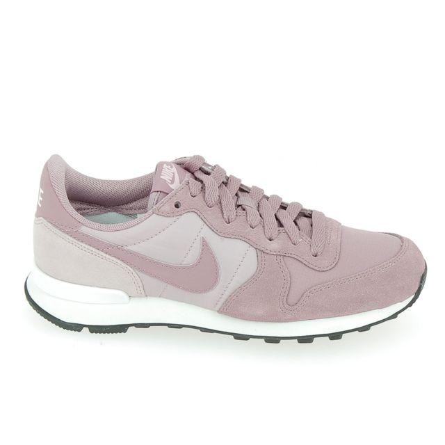 new style 35c9a 11f94 Nike - Internationalist Rose - pas cher Achat   Vente Baskets femme -  RueDuCommerce