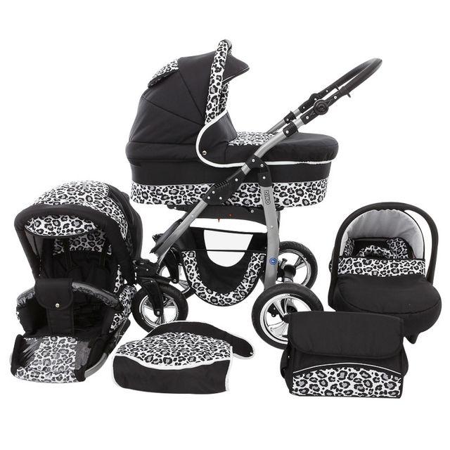 lux4kids dino poussette trio nacelle poussette canne. Black Bedroom Furniture Sets. Home Design Ideas