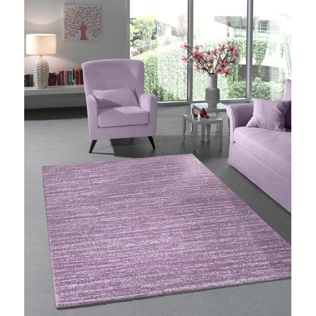Tapis Lisa Flocon Violet 160X230cm