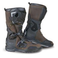 Falco - bottes moto route & tout terrain 415 Avantour Evo d3o étanche marron