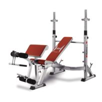 BH Fitness - Optima Press G330. Banc multi-positions pour poids libre