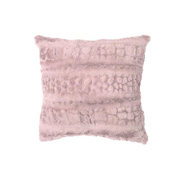 soleil d 39 ocre housse de coussin 60x60 cm laponie rose pas cher achat vente coussins. Black Bedroom Furniture Sets. Home Design Ideas