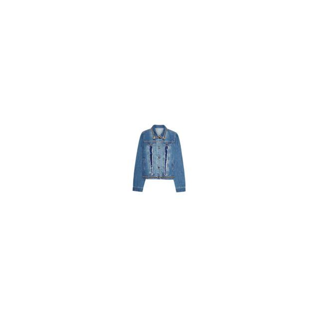 Desigual - Veste Gia Denim Medium Wash Bleu 18SWED24 - Taille - 34 ... 13c96ac652cf