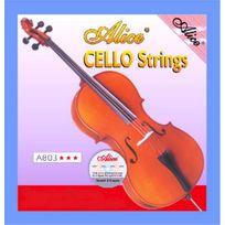 Alice - Jeu de 4 cordes pour Violoncelle ~ sous blister