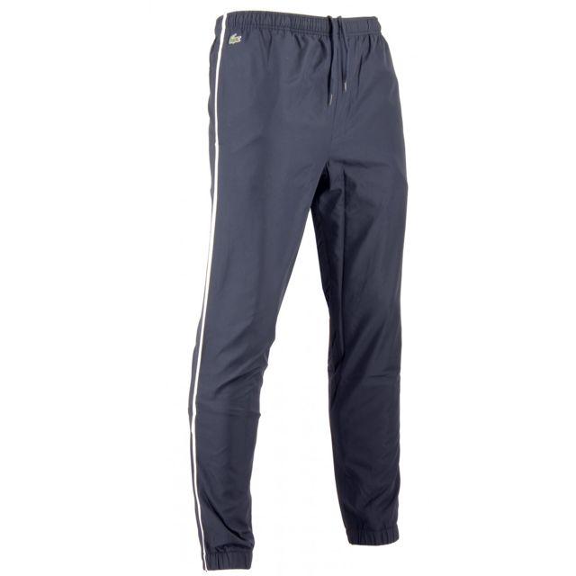 e0695e78f2 Lacoste - Pantalon de survêtement - Ref. Xh2131-00VGU - pas cher Achat /  Vente Survêtement homme - RueDuCommerce