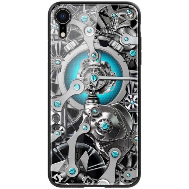coque iphone xr avec verre trempe