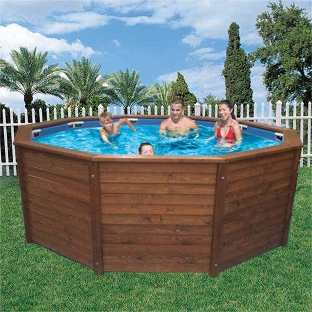 k2o piscine hors sol panneaux en bois 315x105 cm pas cher achat vente piscines bois. Black Bedroom Furniture Sets. Home Design Ideas