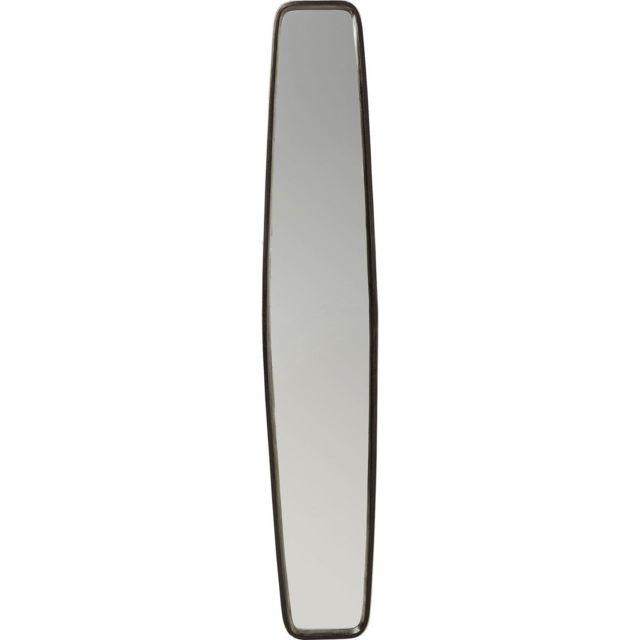 Karedesign Miroir Clip noir 177x32cm Kare Design