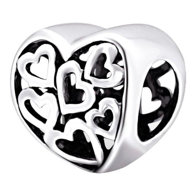 charmes pandora coeur