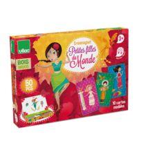 Vilac - Créa-magnets : Petites filles du monde