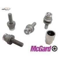 McGard - Lot de 4 vis - 12x125 - L35.3 - H19 - Plat - Chrome - Antivol de Roues