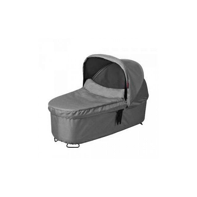 Phil&TEDS - Nacelle Carrycot Snug pour Poussette Phil and Teds Dash Grey Marl Naissance à 3 ans