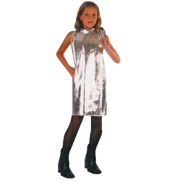 Funny Fashion - Déguisement Chanteuse 7 9 ans - Costume - Star - Fille f55dec15187