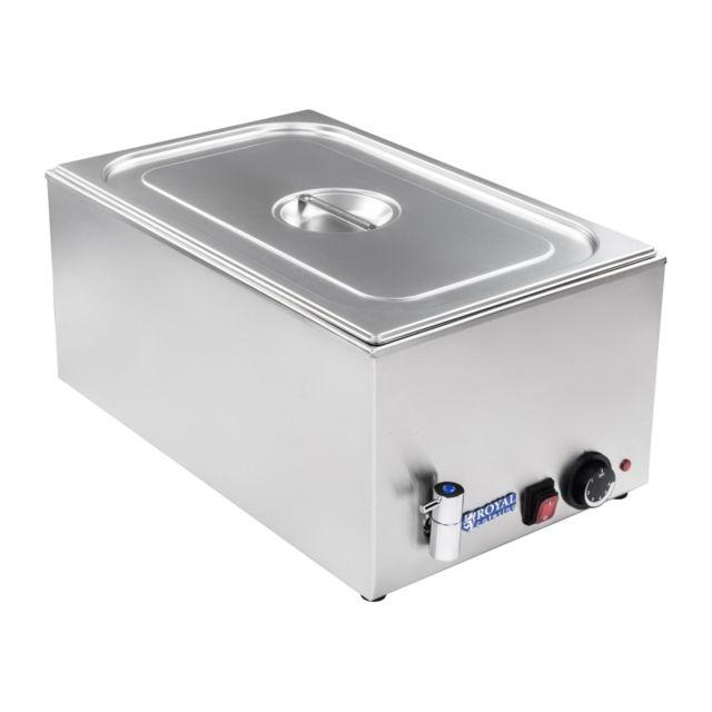 Autre Bain-marie électrique professionnel bac Gn 1/1 avec robinet de vidange 1 200 watts 3614099