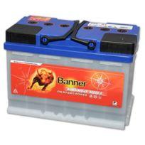 Banner - Batterie Camping car Décharge lente Energy Bull 95601 12v 80ah