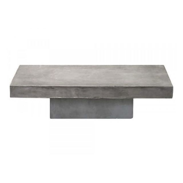 Mathi Design Beton - Table basse béton massif gris