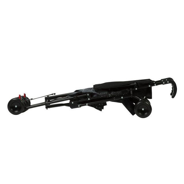 Safety 1ST - Poussette canne fixe Peps + canopy - Splatter black Nc