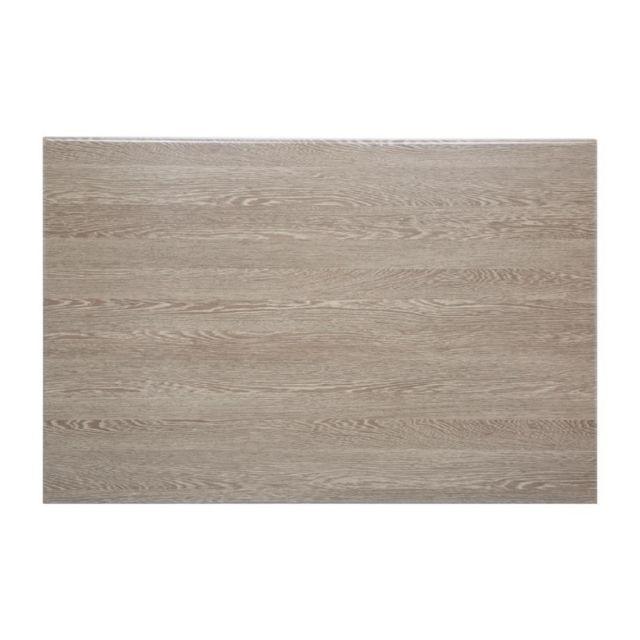 Materiel Chr Pro Plateau de Table Rectangulaire Pré-Percé 1200 mm - Wengé - Bolero - Wengé 1200 mm