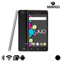 Marque Generique - Téléphone libre et intelligent 5'' - Smartphone Couleur - Blanc
